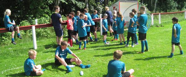 Foldboldskole i Understed Idrætsforening 2014