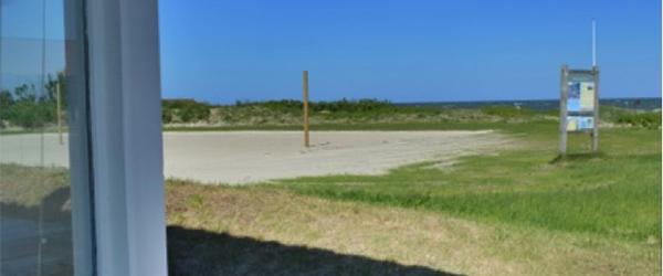 Indvielse af beachvolleybaner ved Sæby Nordstrand
