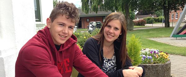 Eksamenstid i nye rammer på Hørby Efterskole