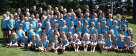 Holdbillede gymnastikskole
