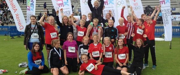 6. klasse fra Hørby-Dybvad hentede guldet hjem igen i år!