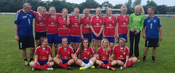 Skjolds U15 Piger klar til JM kvartfinale