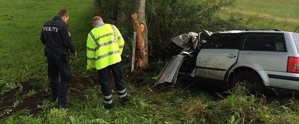 31-årig mand fra Voerså død efter solo-ulykke
