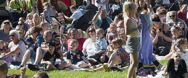 Kæmpe lokal børnemusikfestival blev en stor succes