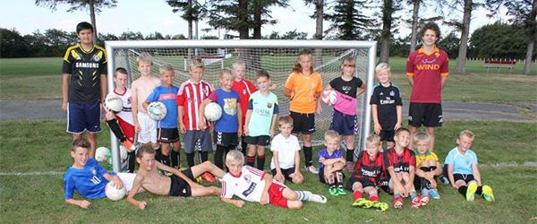 To dages fodboldskole i Voerså IF