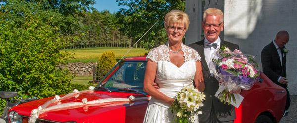 Bryllup:<br>Viet i Åsted Kirke