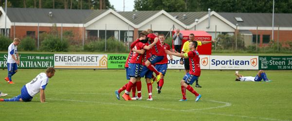 Skjold fik tre point på hjemmebane mod Birkelse