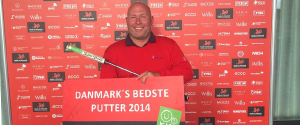 Kim Albæk fra Sæby blev Danmarks bedste putter