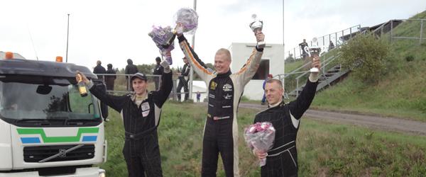 Team Svenningsen Dansk Mester 2014 i Rallycross