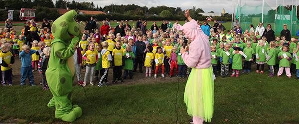 Børne OL i Sæby endnu engang en succes
