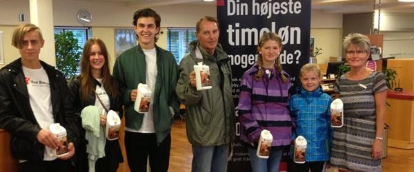 Red Barnets Landsindsamling fik et flot resultat i Sæby