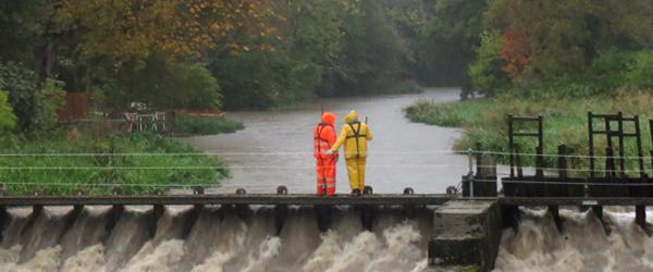 Masser af oversvømmelser i lokalområdet