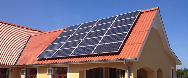 Kommunen er højdespringer med produktion af solenergi