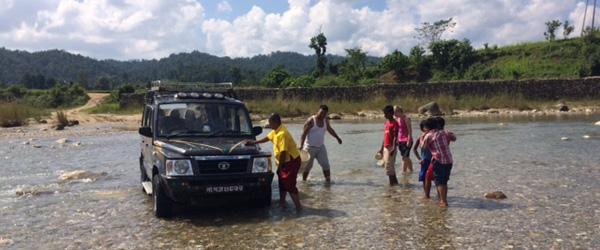 Dagbog: To nye piger med til Kathmandu – 5 dag