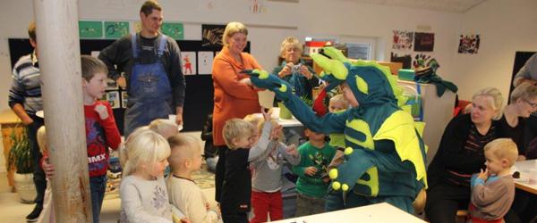 Livsfarlig drage i børnehaven<br>…