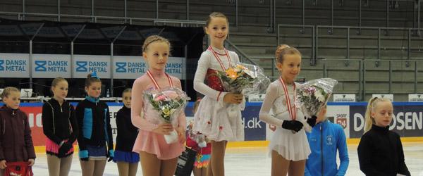 Sæby pige blev Jysk-Fynsk mester i skøjteløb