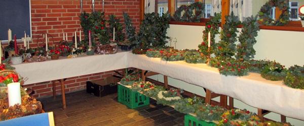Kirkecafeen siger tak for et velbesøgt julemarked