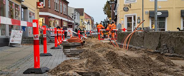 Teknisk Udvalg drøfter gravearbejder i Sæbys midtby