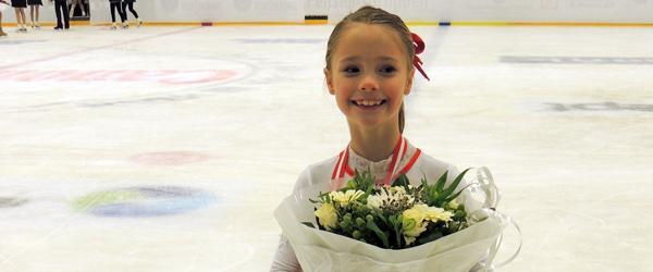 Babeth Hansson Østergaard til DM i skøjteløb