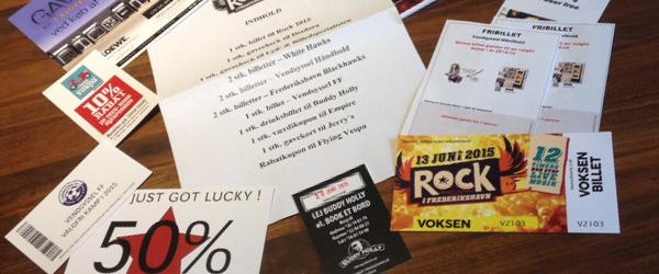 Rock-tilbud til Open By Christmas i Sæby