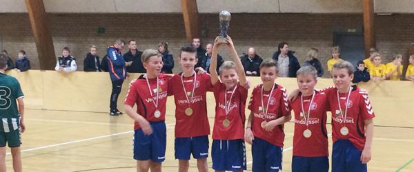 Fodbold: Sæby-drenge til tops i Hjørring