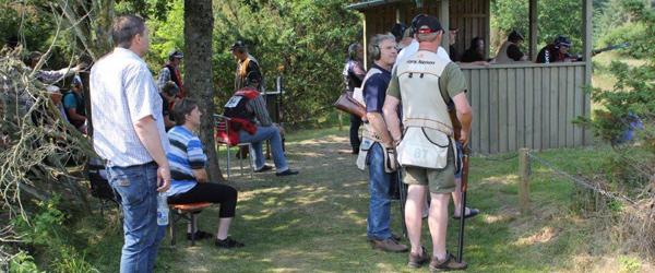 Jægere afholder hyggeskydning<br>…