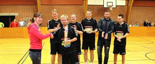 Fodboldturnering i Voerså-hallen…