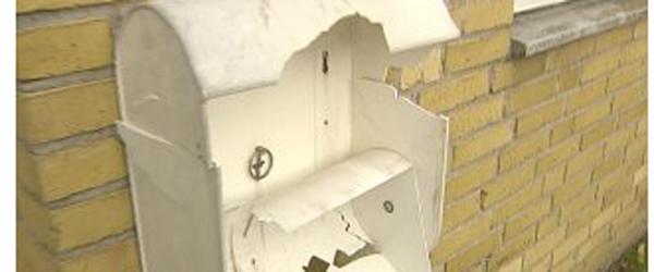 Hver 10. hus mister postkassen til nytårshærværk
