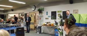 Goddag og farvel receptionhos Sæby Fritidscenter & Hostel
