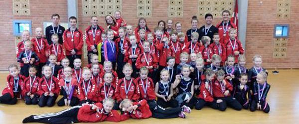 Springteam Sæby erobrede 5 medaljer ved VM