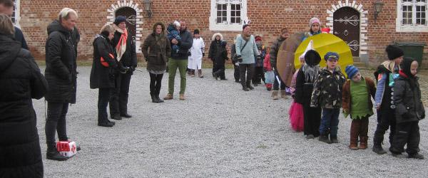 Fastelavnsfest på Sæbygaard Slot…