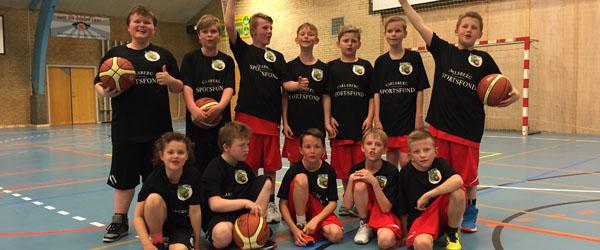 Ministævne i Sæby Basketball Club
