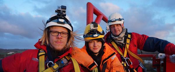 Greenpeace har besat boretårn i Dybvad