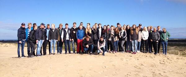 Tysk besøg på handelsgymnasiet…