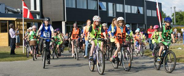 Cykelsponsorrally og sommerlejr…
