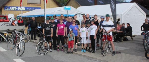 Cykelløb er et hit i Lyngså<br>…