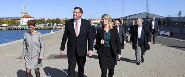 Ministerbesøg i Frederikshavn <br>…