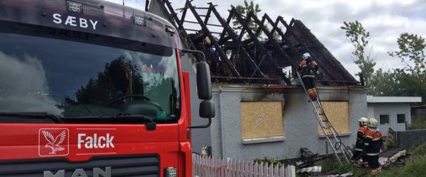 Mystisk brand i hus på Aalborgvej i Dybvad
