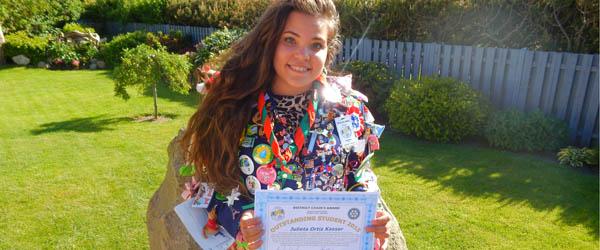 Outstanding Student Award modtager er fra Sæby