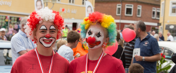 150 deltagere til dette års Klovneløb i Sæby