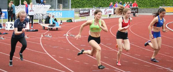 18 medaljer til Sæby Atletik ved Vestdanske mesterskaber