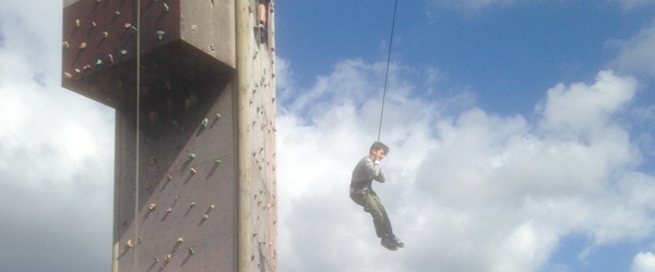 De klatrede og sprang i Ørtoft<br>…