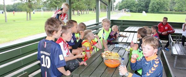 To dages fodboldskole i Voerså<br>…