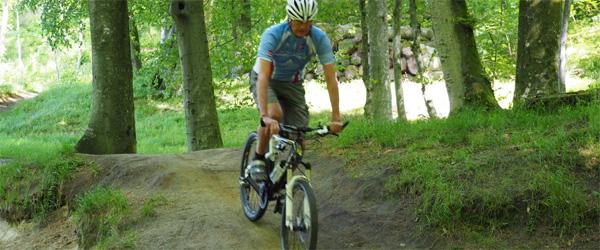 På mountainbike i Toppen af Danmark