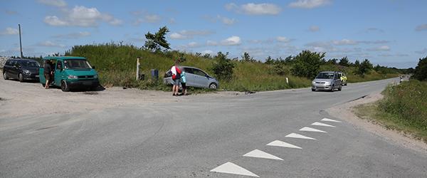 Færdselsuheld på Østkystvejen ved Lyngså