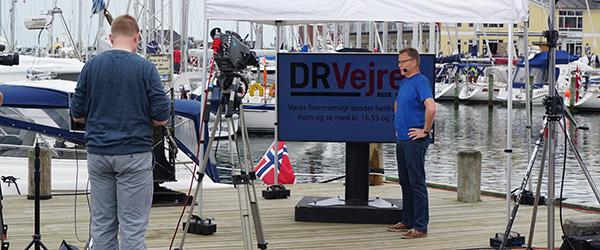 """DR's """"Vores Sommervejr"""" besøger i aften Sæby Havn"""