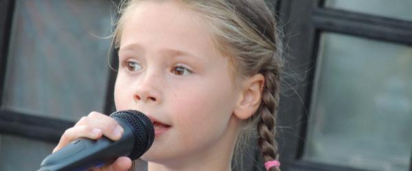 De Jyske Talenter optræder på Torvet