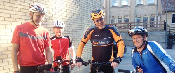 Kræftens Bekæmpelse Sæby havde sit årlige motionscykelløb