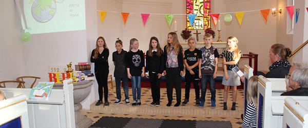 Børnefest i Lyngså kirke<br>…