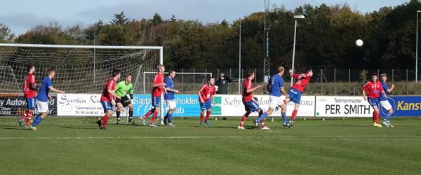 Skjolds Jyllandsserie vandt 2-0 på hjemmebane